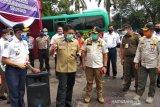 Pemerintah evaluasi penerapan PSBB di Kota Palembang menuju normal baru