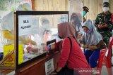 Rapid test pedagang di Sampit berlanjut
