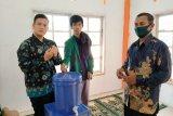 Mahasiswa KKN Tematik Universitas Andalas Padang produksi hand sanitizer dari daun sirih