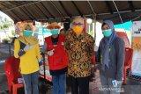 Wabup Bantaeng tinjau pos terpadu COVID-19 di perbatasan Bantaeng-Jeneponto