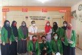 Mahasiswa FK Unand bagikan APD untuk puskesmas di Padang