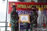 Lantamal Padang tetap patroli di tengah pandemi