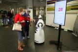 Robot COVID-19 sebagai patroli di rumah sakit Belgia