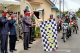 Wabup Barito Utara lepas penyaluran  beras bantuan Polri