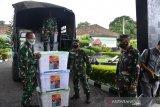 Kodam II Sriwijaya terima bantuan APD tenaga medis dari Mabes TNI AD