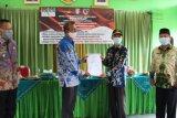 Bupati Pringsewu launching pusat pengaduan bansos SLRT bersahaja
