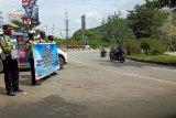 Polres Jayapura patroli sosialisasikan pencegahan pandemi COVID-19