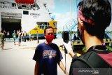 Penumpang dan ABK jalani rapid test di Pelabuhan Sampit