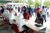 Ribuan pelanggar PSDD di Mimika ikut rapid test COVID-19