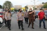 Kapolda Sumbar tinjau Pasar Raya Padang petakan pengamanan jelang kenormalan baru