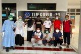 215 pasien positif COVID-19 dinyatakan sembuh telah dipulangkan dari RSKD Dadi Makassar