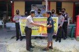 Komunitas Polisi Toraja Polres Biak berikan bantuan sembako warga terdampak COVID-19
