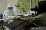 Jurnalis Palembang ikuti Rapid Test di Rumah Sehat COVID-19