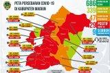 Pasien COVID-19 di Kabupaten Madiun bertambah tiga menjadi 29 orang