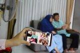Warga Pekanbaru gelar silaturahim Idul Fitri sesuai prokes