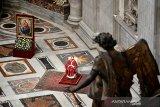 Paus Fransiskus setujui aturan baru antikorupsi di Vatikan