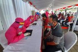 153 warga Surabaya berdasarkan hasil 'rapid test' massal reaktif COVID-19