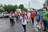 Pemkab intensif sosialisasi pencegahan COVID-19 di Pasar Badog Bancar Purbalingga