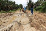 Pengerjaan pemeliharaan ruas jalan Kuala Keritang segera dikerjakan