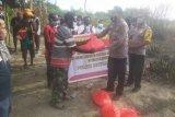 Polri berikan bantuan kepada warga Sentani terdampak pandemi COVID-19