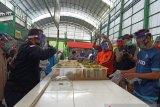 Pasar OroOro Dowo menjadi percontohan menuju normal baru di Kota malang