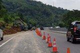 Jalur Tol Semarang-Solo sudah dibuka kembali setelah tertimbun longsor