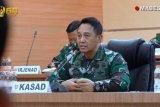 Kasad bantu tenaga medis RSPAD Jakarta helm pendeteksi suhu tubuh