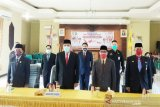 Pemkab Barsel ikuti peringatan Hari Lahir Pancasila melalui konferensi video