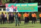 Personel TNI/Polri awasi penerapan protokol COVID-19 di Muba