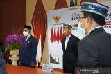 Gubernur ikut merayakan HUT Pancasila secara virtual
