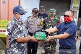 PJ Agrinus berikan bantuan pangan warga jalani karantina wilayah di Banyumas