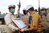 Gubernur Sulbar resmikan pembangunan Bendungan Kalukku Mamuju