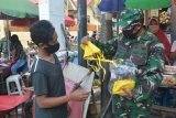 Kodam XVII/Cenderawasih bagikan 1.200 masker gratis ke warga Jayapura