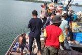 Kapolres Mamberamo Raya pantau penyaluran bantuan sembako di tiga distrik