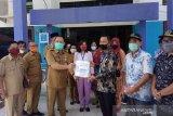 DPRD Kalteng tinjau sekber penanganan dampak sosial pandemi COVID-19 Barsel