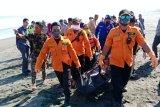 Dua korban warga Kebumen yang tenggelam di muara Sungai Lukulo ditemukan meninggal