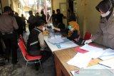 Ratusan personel Polresta Surakarta jalani rapid test COVID
