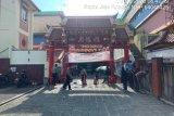 Polisi  Bogor KRYD di Vihara Dhanagun