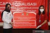 Anggota DPR serahkan bantuan untuk RSUD Merah Putih tangani COVID-19
