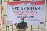 Kadis positif COVID-19, seluruh pegawai Dinas Perindagkop Solok Selatan dites swab