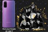 Samsung gandeng grup idola K-pop BTS bakal rilis Galaxy S20+ edisi terbatas