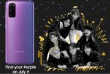 Samsung-BTS  bakal rilis Galaxy S20+ edisi terbatas