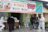 Relawan COVID-19 FK UNRI perkuat Puskesmas Simpang Baru gencarkan edukasi tentang pencegahan COVID-19
