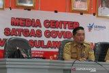 Akumulasi positif COVID-19 di Sulut naik  391 orang