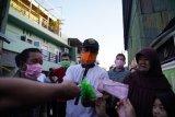 Wagub Sulsel serahkan bantuan kebutuhan pokok korban kebakaran Makassar