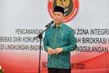 Pencanangan zona integritas bebas korupsi di BNPT