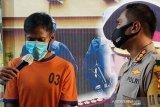 Polisi tangkap tersangka cabuli anak di sawah
