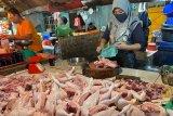Harga ayam potong di Palembang melonjak Rp40.000/Kg