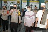 Pengurus masjid di Palembang terapkan protokol kesehatan