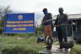 Pangakalan TNI-AL Palembang dorong desa binaan produktif di tengah pandemi